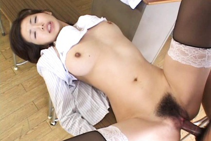 Mai Hanano Asian licks boner before being doggy drilled a lot