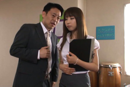 Shunka ayami. Shy Shunka Ayami gets seduced and horny by her teacher