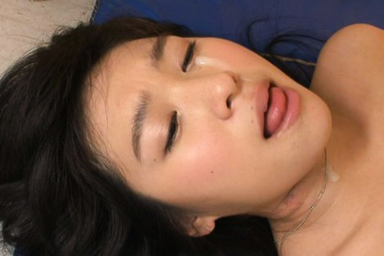 Nana ogura. Nana Ogura Asian with large cans is have sex by student and gets cumshot