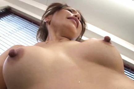 Sayuri honjyou. Sayuri Honjyou Asian with rough nipples has love box fingered