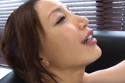 Sayuri honjyou. Asami Ogawa Asian rides boner and shakes her round bazoom bas