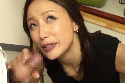 Sayuri honjyou. Sayuri Honjyou Asian strokes and gulp four dicks like a whore