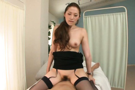 Asami ogawa. Asami Ogawa Asian with nude boobs rides dong in hospital room