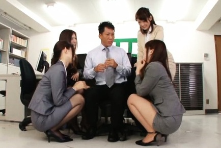 Japanese av model. Japanese AV Model and teachers have hot asses touched at school