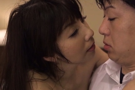 Kimika ichijou. Kimika Ichijou Asian in stockings licks cumshot she gets on face